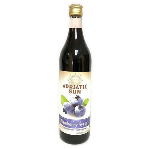ADRIATIC SUN Blueberry Syrup 1L resmi