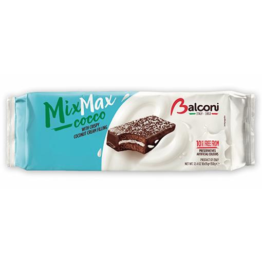 BALCONI MixMax Cocco w/Crispy Coconut Cream Filling 350g 10pc resmi