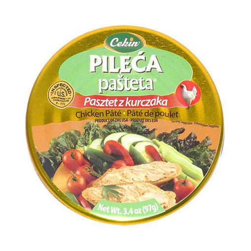 CEKIN Pileca Pasteta Chicken Pate 97g resmi