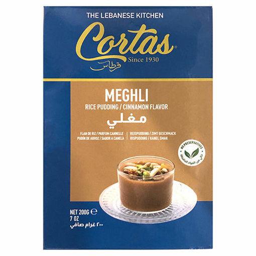 CORTAS Meghli (Rice Pudding w/Cinnamon Flavor) 200g resmi