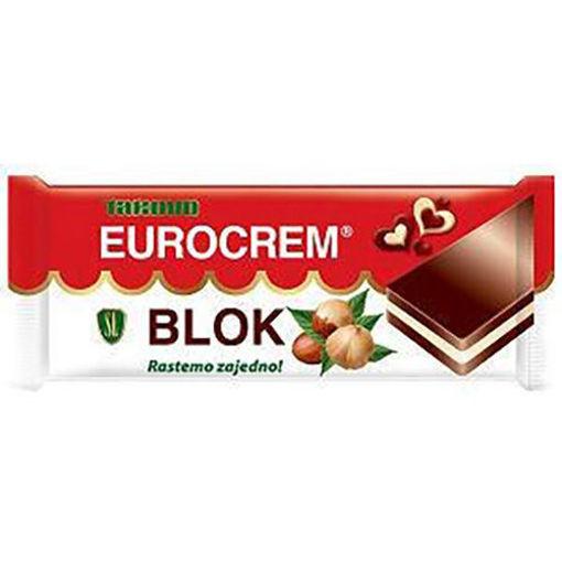 SWISSLION Takovo Eurocrem Blok Chocolate Bar 100g resmi
