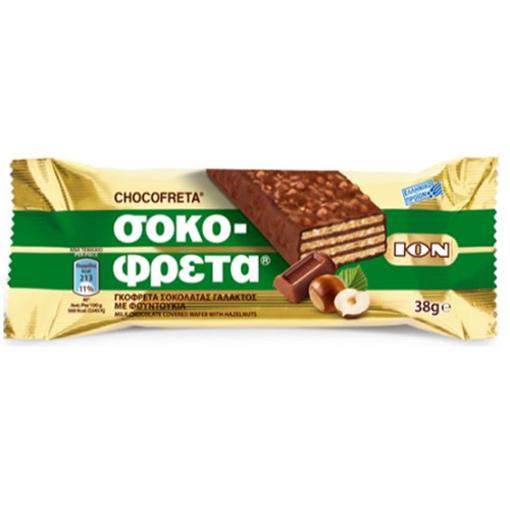 ION Chocofreta w/Hazelnut 38g resmi