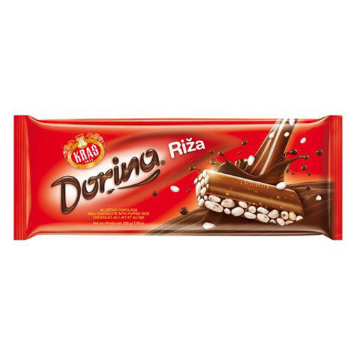 KRAS Dorina Riza Chocolate 220g resmi