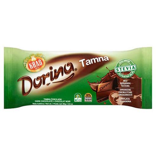 KRAS Dorina Tamna Chocolate 80g resmi