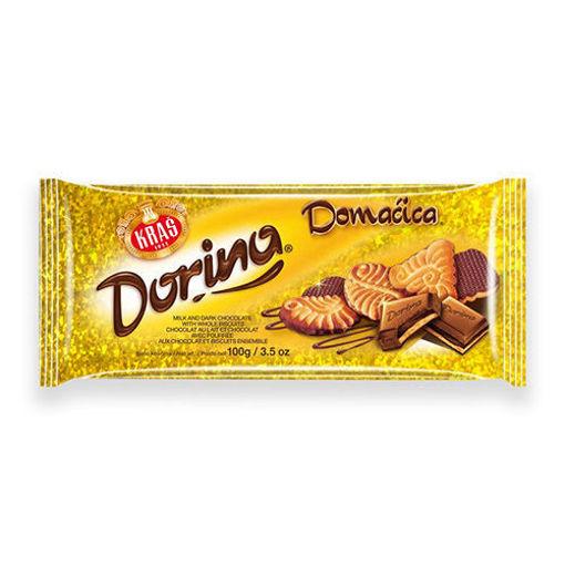 KRAS Dorina w/Domacia Napolitanke Chocolate 100g resmi