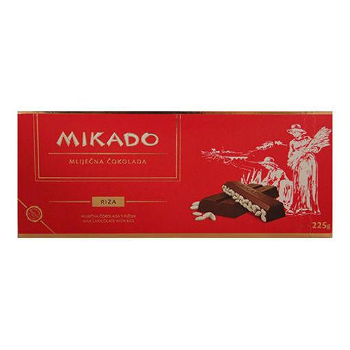 MIKADO Chocolate w/Rice 225g resmi