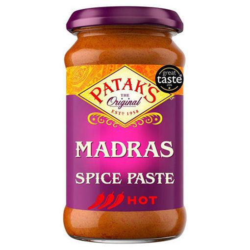 PATAK'S Madras Hot Spice Paste 283g resmi