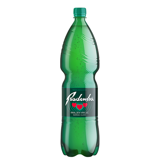 RADENSKA Mineral Water 1.5L resmi