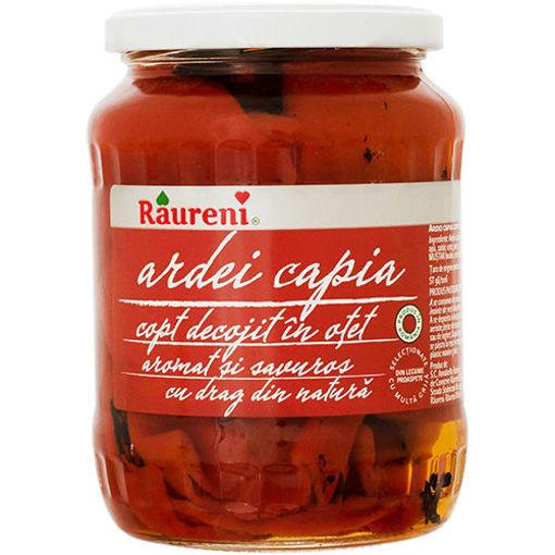 RAURENI Ardei Capia (Red Peppers in Vinegar) 700g resmi