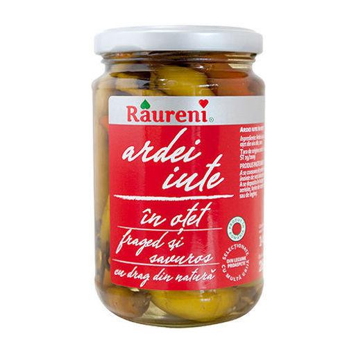 RAURENI Ardei Iute (Hot Peppers in Vinegar) 280g resmi