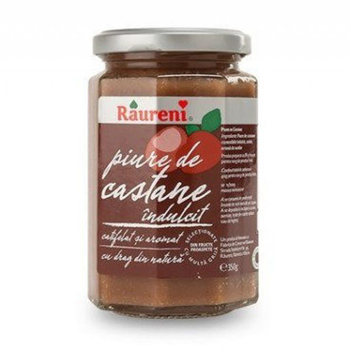 RAURENI Chestnut Puree (Piure de Castane) 220g resmi