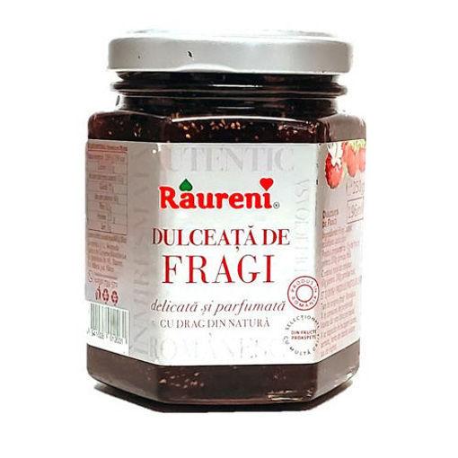 RAURENI Dulceata de Fragi (Wild Strawberry Preserve) 350g resmi