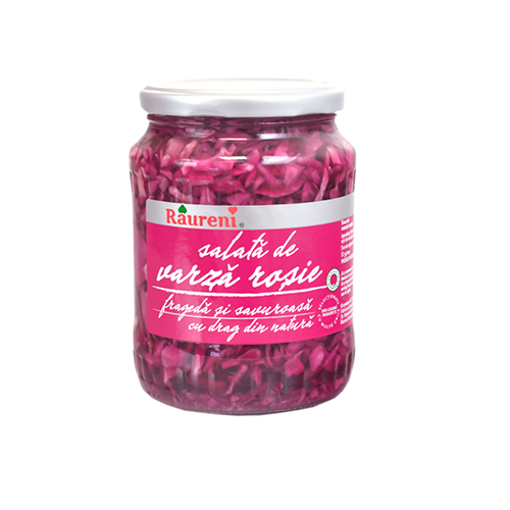 RAURENI Varza Rosie (Pickled Red Cabbage) 680g resmi