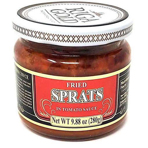 RIGA GOLD Fried Sprats in Tomato Sauce 280g resmi