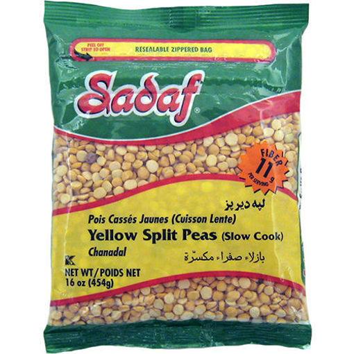 SADAF Yellow Split Peas (Toor Dal) 454g resmi