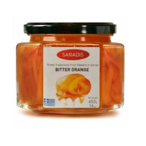 SARADIS Bitter Orange in Syrup 453g resmi