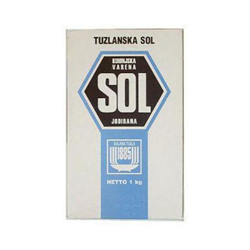TUZLANSKA So/Sol Salt 1kg resmi