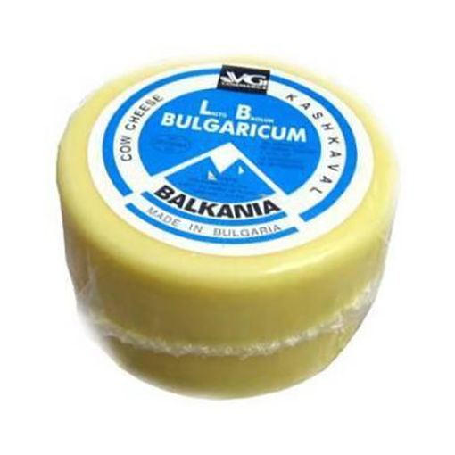 VG Bulgarian Cow's Milk Kaskhaval Cheese Blue Label 500g resmi