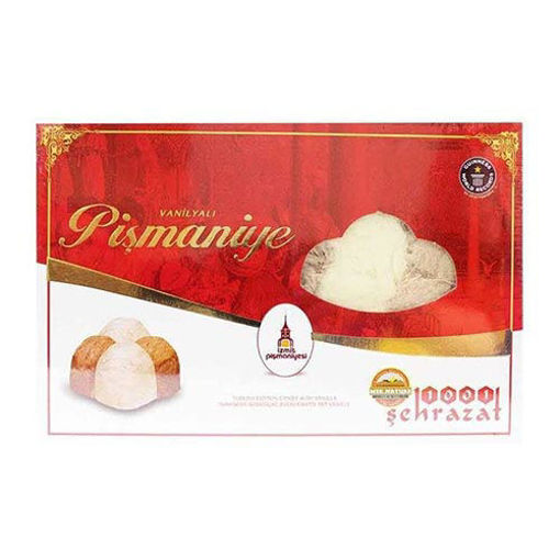 1001 SEHRAZAT Turkish Cotton Candy w/Vanilla (Pismaniye) 180g resmi