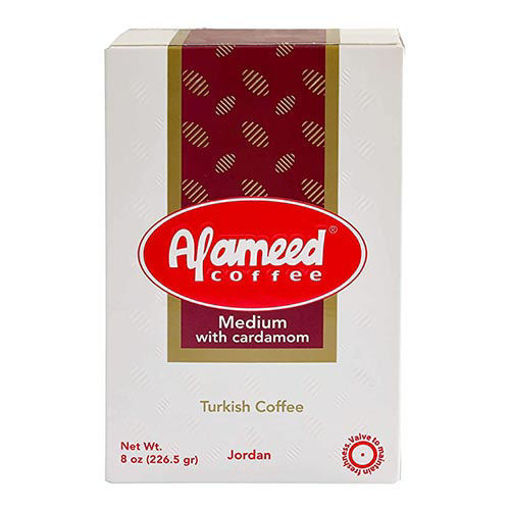 AL AAMED Coffee w/Cardamom 226g resmi