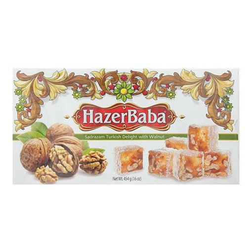 HAZERBABA Sadrazam Turkish Delight w/Walnut 454g resmi