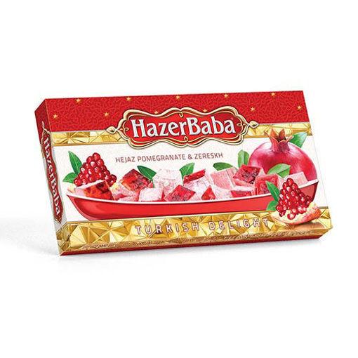 HAZERBABA Turkish Delight w/Pomegranate & Barberry (Zereskh) 454g resmi