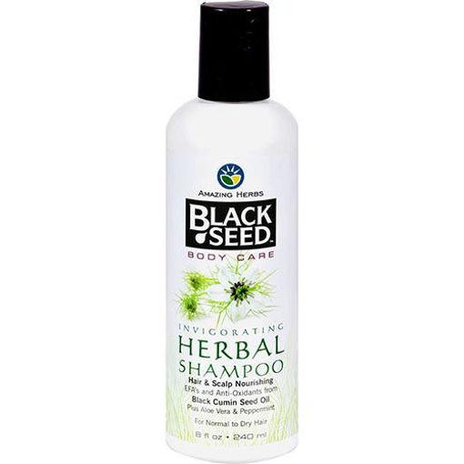AMAZING HERBS Black Seed Herbal Shampoo 240ml resmi