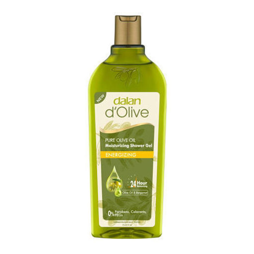 DALAN d'Olive Moisturizing Shower Gel ''Energizing'' 400ml resmi