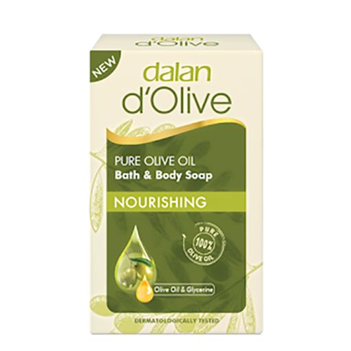 DALAN d'Olive Pure Olive Oil Bath&Body Soap ''Nourishing'' 200g resmi