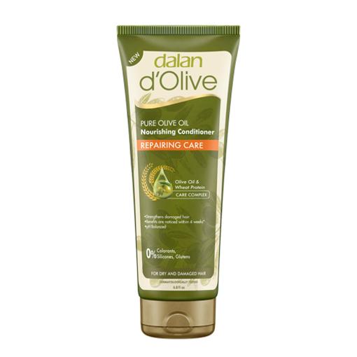 DALAN d'Olive Pure Olive Oil Conditioner ''Repairing Care'' 200ml resmi