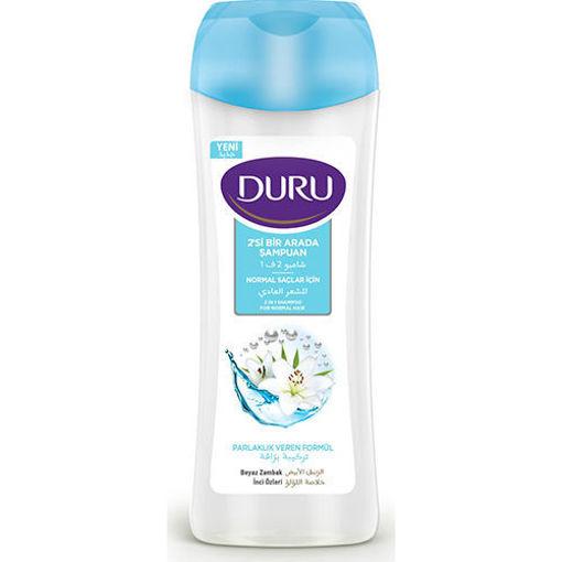 DURU 2in1 Hair Shampoo 600ml resmi