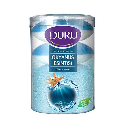 DURU Ocean Breeze Hand Soap (4pc) 110g resmi