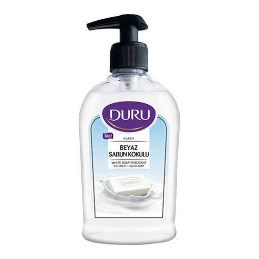 DURU Liquid Soap White Soap Fragrant 300ml resmi