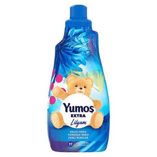 YUMOS Extra Concentrated Softener (Lilyum Yumusatici) 1.5 Lt resmi