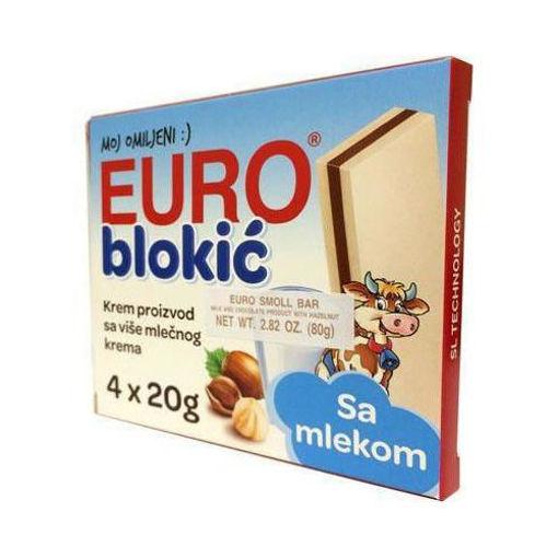 SWISSLION Takovo Eurocrem Blokic 4pc x 20g resmi
