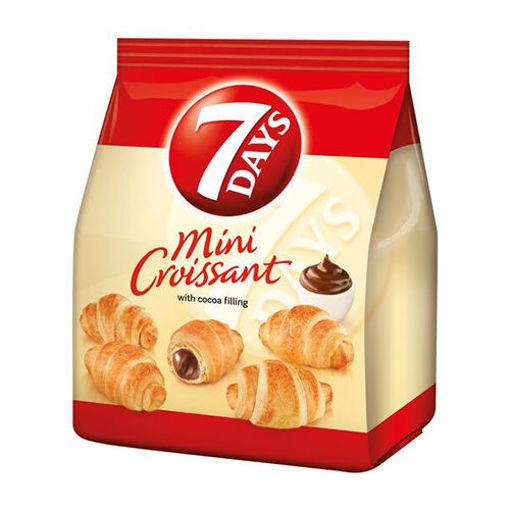 7DAYS Mini Croissant w/Cocoa Filling 185g resmi