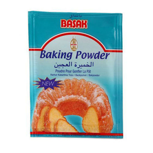 BASAK Baking Powder (Kabartma Tozu) 5pc x 5g resmi