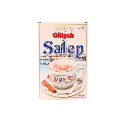 GULSAH Turkish Salep Instant Drink 250g resmi