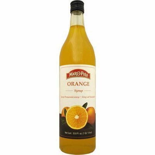 MARCO POLO Orange Syrup 1L resmi