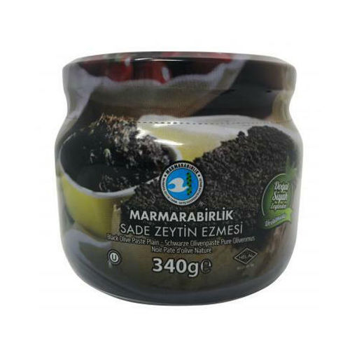MARMARABIRLIK Black Olive Paste 340g resmi