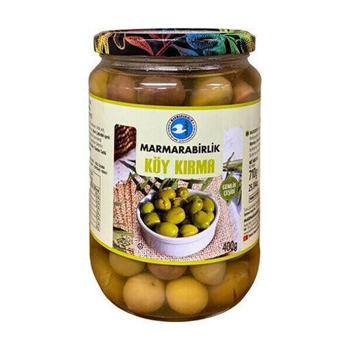 MARMARABIRLIK Green Olives (Koy Kirma M Size) 400g resmi
