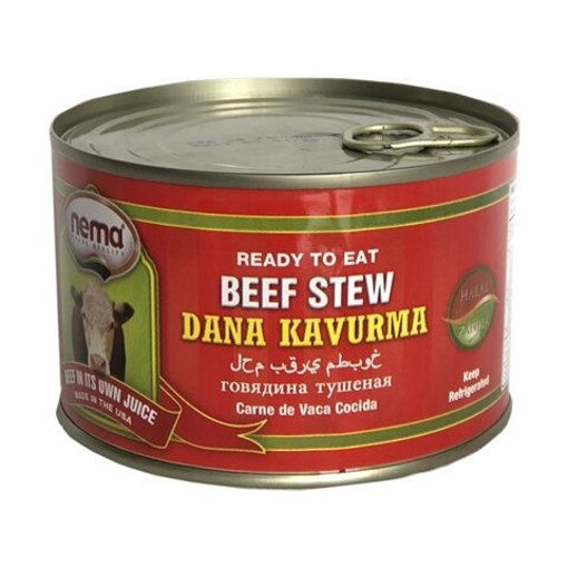 NEMA Beef Stew (Dana Kavurma) 400g resmi