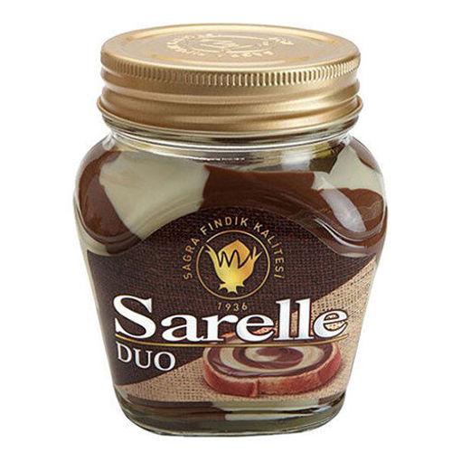 SARELLE Duo Milk&Cocoa Spread w/Hazelnut 350g resmi