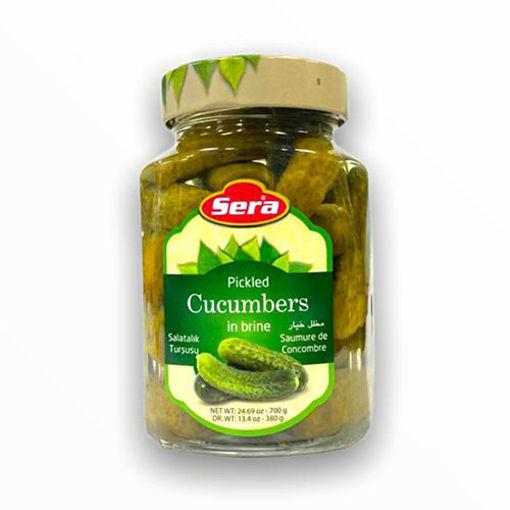 SERA Pickled Cucumbers in Brine 380g resmi