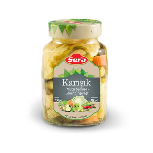 SERA Pickled Mixed Vegetables 400g resmi