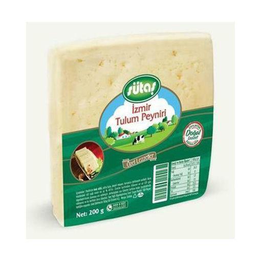 SUTAS Izmir Tulum Cheese (Izmir Tulum Peyniri) 200g resmi