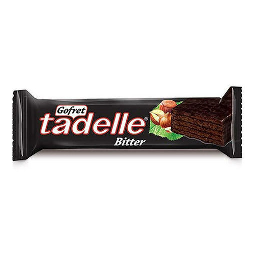 TADELLE Bitter Chocolate Wafer w/Hazelnut 35g resmi
