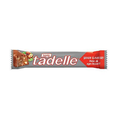 TADELLE Sugar-Free Milk Chocolate Bar 20g resmi