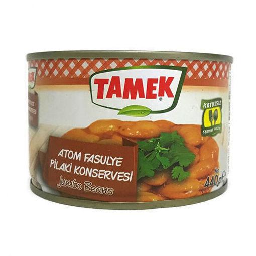TAMEK Jumbo Beans (Atom Fasulye) 440g resmi