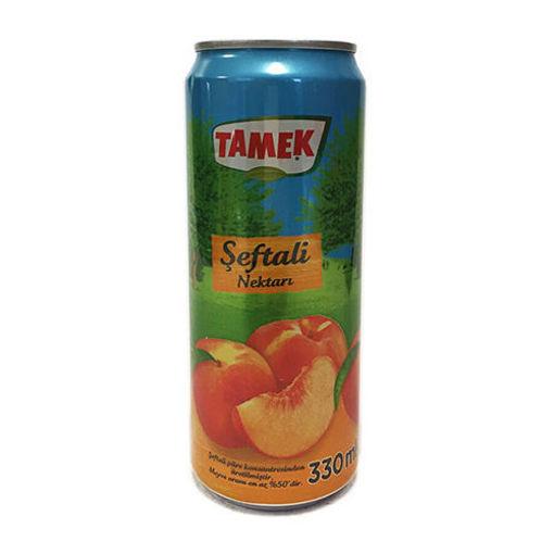 TAMEK Peach Juice 330ml resmi